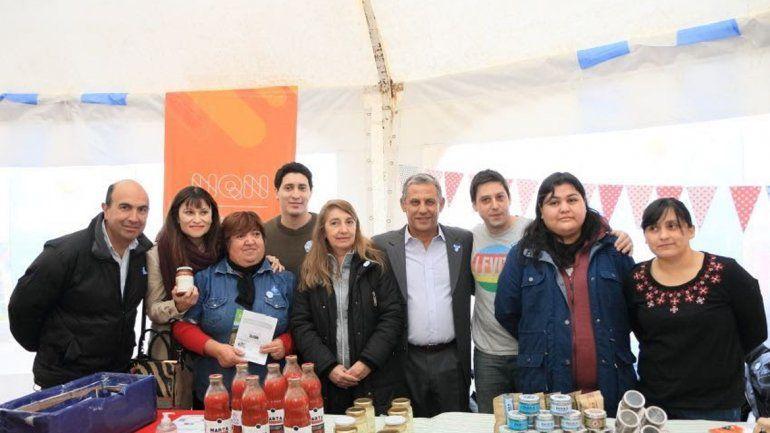 El espacio fue visitado por el intendente Horacio Quiroga. Más de 120 emprendedores participan de la Expo.