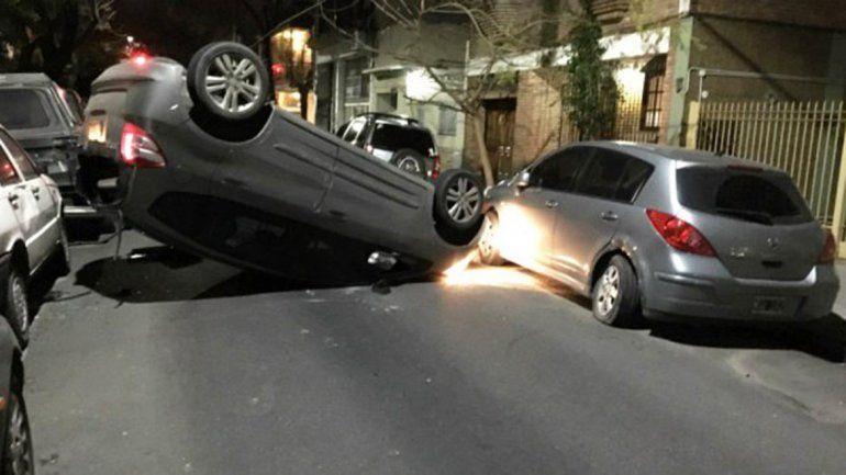 Choqué tu auto. Matías