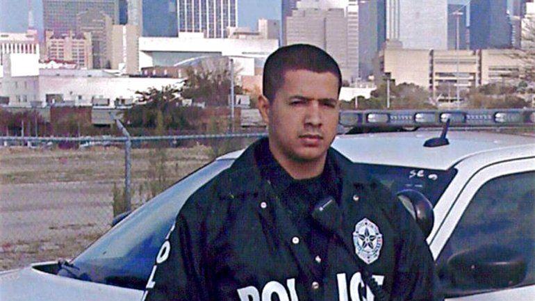 Patrick Zamarripa era un mexicano de 32 años. El disparo esquivó su chaleco antibalas y le entró por la axila.