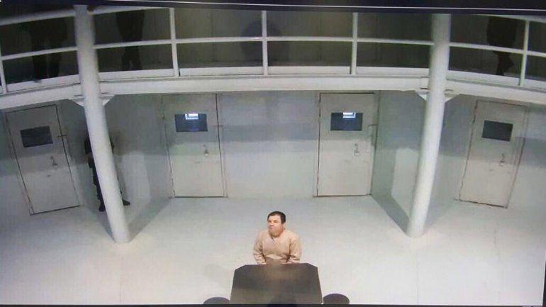 La foto del narcotraficante fue difundida por un funcionario.