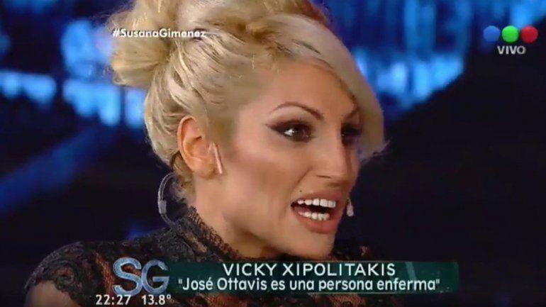 Vicky Xipolitakis le dijo a Susana que Ottavis sufre una adicción a las drogas: Ojalá pueda curarse