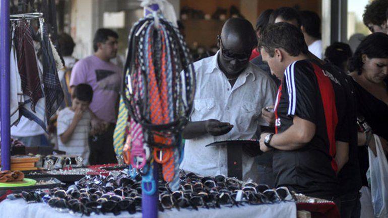 La crisis del consumo también golpea las ventas callejeras
