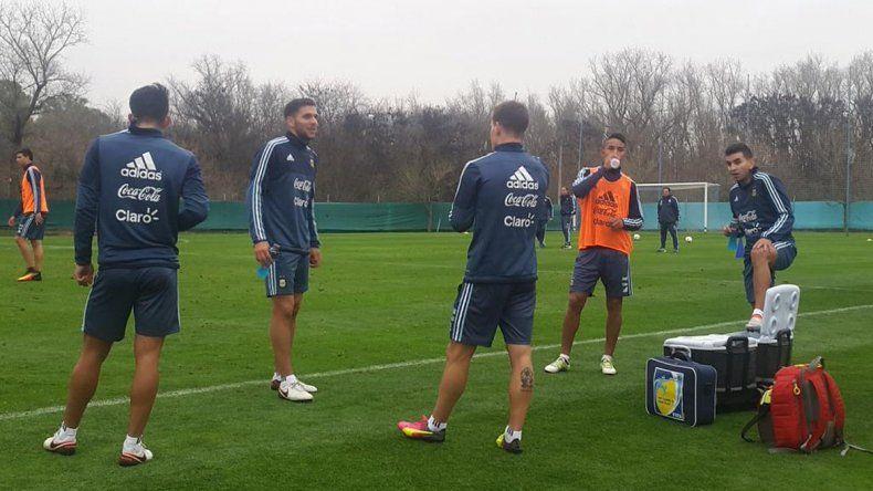 La Selección comenzó su entrenamiento con apenas 11 jugadores