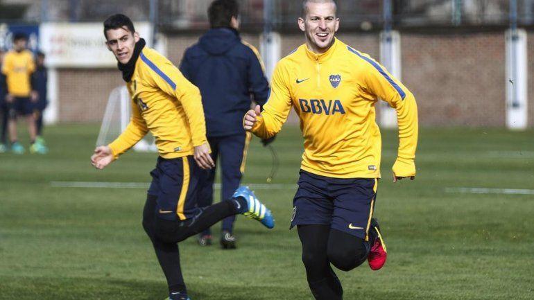 Boca vuelve a entrenar hoy a las 9:30 en Casa Amarilla. Guille buscará definir el equipo para la vuelta del jueves ante Independiente del Valle.
