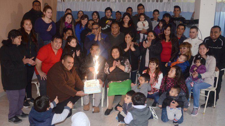 En la familia Ancafil son más de cien. Muchos acompañaron a Eugenio.