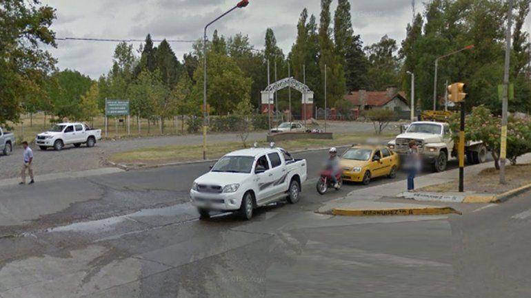 El taxista recogió a los pasajeros en Chaco y Planas