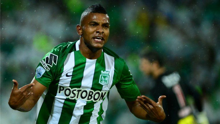 Borja metió los dos goles para Atlético Nacional de Medellín.