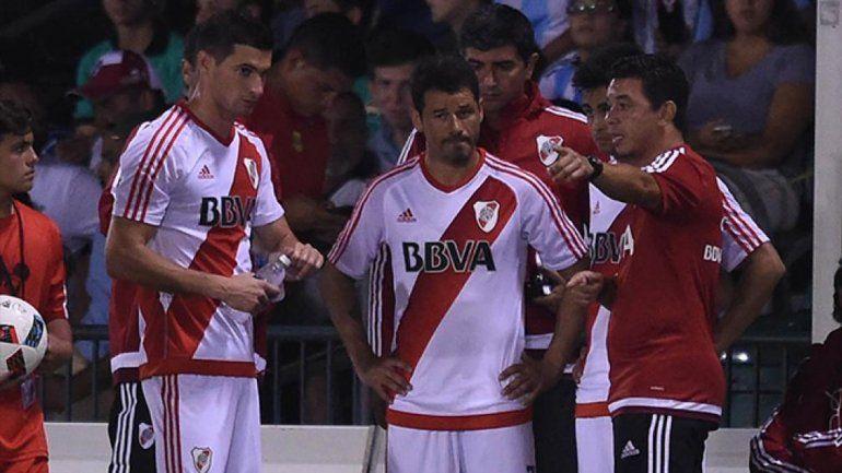 Gallardo está contento con la evolución del equipo en la pretemporada.