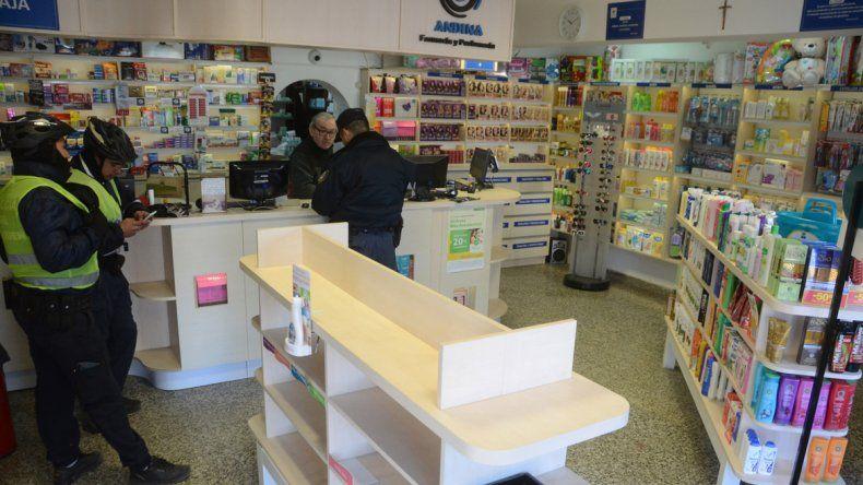 Ayer la Policía acudió de inmediato al local céntrico y detuvo al ladrón
