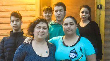 Roxana, y Vaniria y sus hijos, viven en familia y cumplieron un sueño.