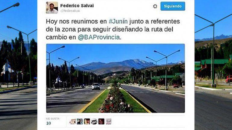 Ministro de Vidal confundió una localidad bonaerense con Junín de los Andes