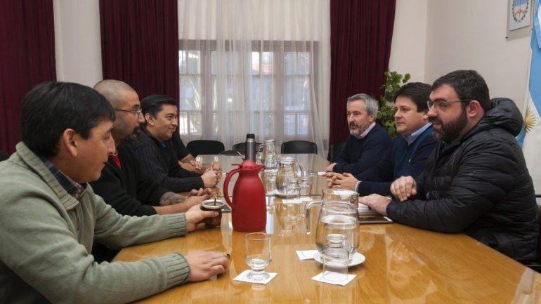 Quintriqueo teme que el Gobierno dilate los tiempos en la negociación.