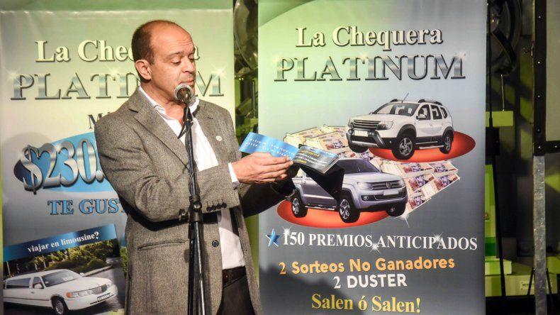 La chequera Platinum de La Neuquina reparte 230.000.000 pesos