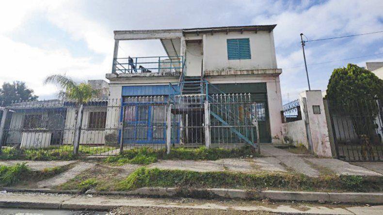 La casa del barrio San Ignacio quedó afectada por el fuego. Si no fuera por los vecinos