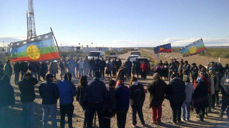 La comunidad Campo Maripe bloquea acceso a pozos de YPF