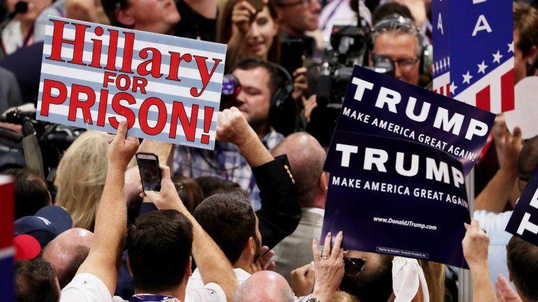 Trump fue elegido oficialmente candidato republicano
