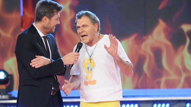 El Presidente elogió la imitación de Freddy Villarreal