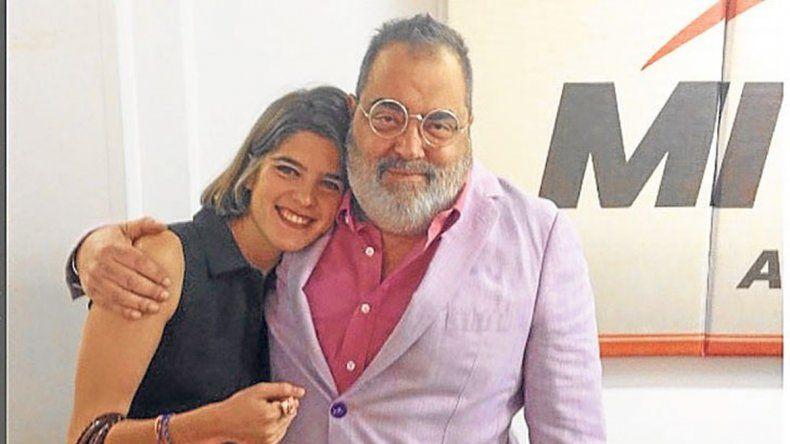 Josefina Giancaterino Stefmann y Jorge Lanata.