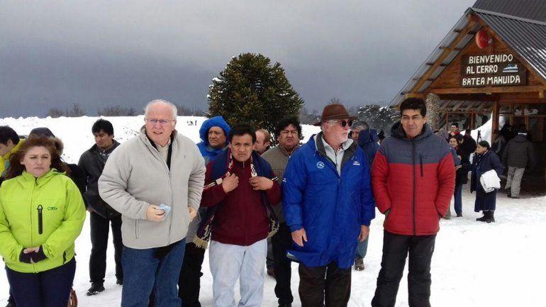 Quedó inaugurado el parque de nieve Batea Mahuida