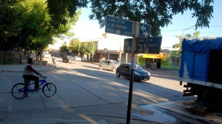 El robo del auto fue en Estrada y Esquiú