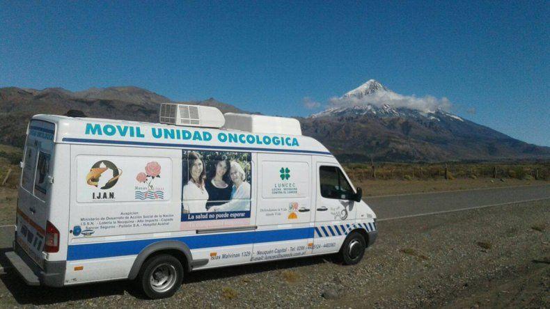 El mamógrafo recorre todo el territorio provincial.