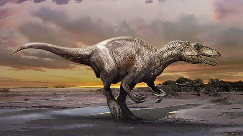 Ilustración del dino realizada por la Universidad de Alberta.
