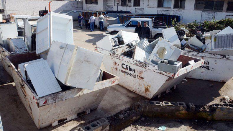 La Municipalidad habilitó un depósito en José Rosa y Ricchieri. Es para evitar que la gente arroje estos residuos en lugares no habilitados de la ciudad.