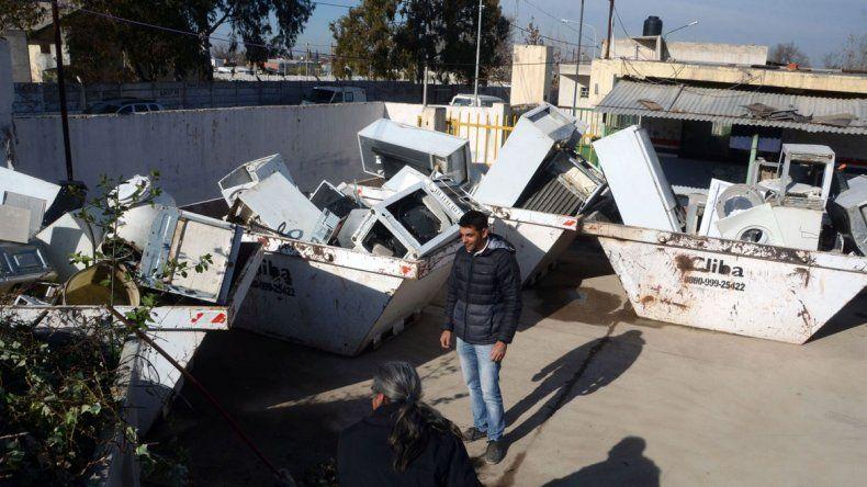 Unas 700 familias liberaron sus patios llevando sus residuos.