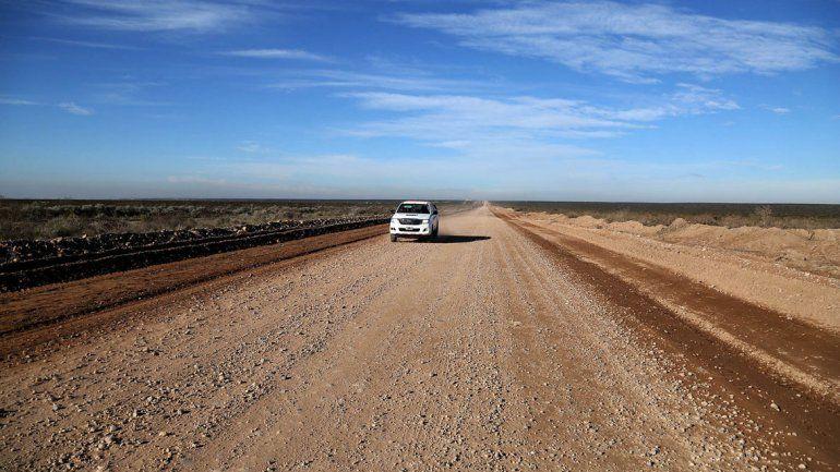 El tramo que ensancha Vialidad Provincial de la nueva Ruta 67