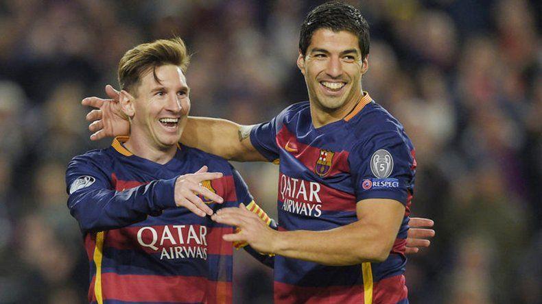 Suárez bancó a Messi y confía en su regreso a la Selección.