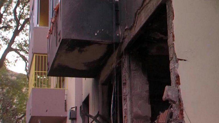 Explosión e incendio en un edificio: al menos 17 heridos