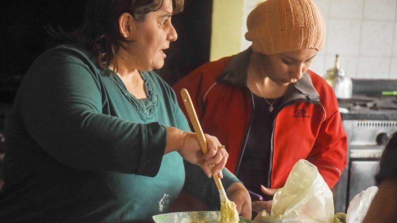 Las mujeres comparten recetas pero también experiencias y vivencias sobre su padecimiento celíaco.