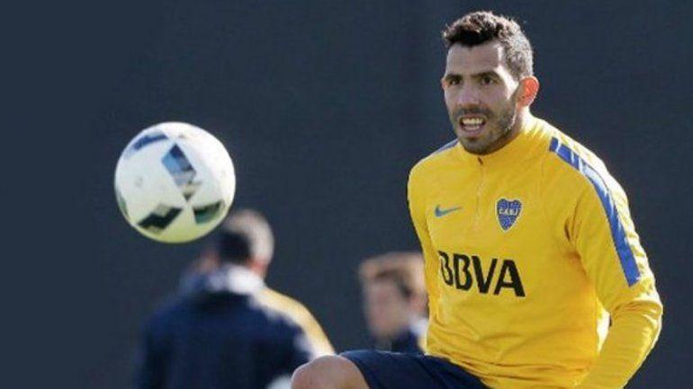 Tevez se recuperó de su lesión y volverá a la titularidad ante Sarmiento