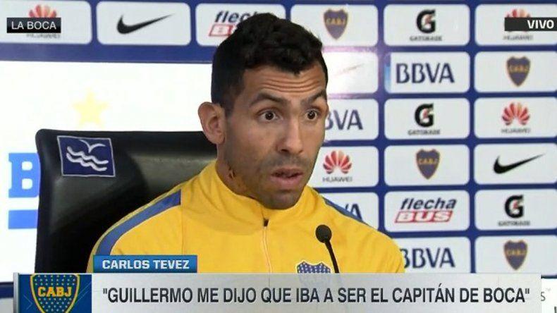 Tevez no se va: Mi idea es retirarme en Boca