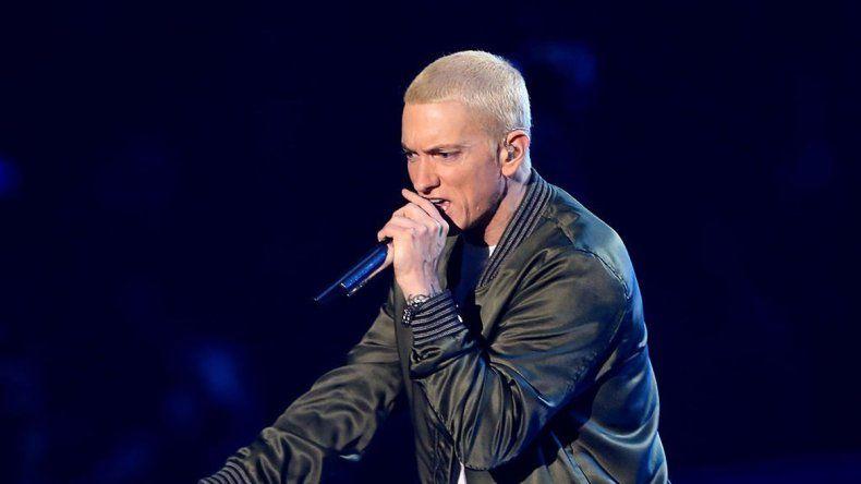 Eminem fue la gran atracción del festival de este año.