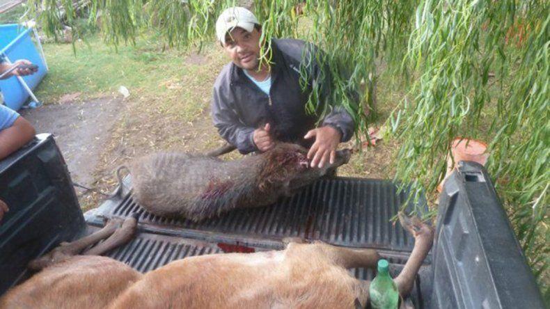 Policías acribillaron a un cazador furtivo