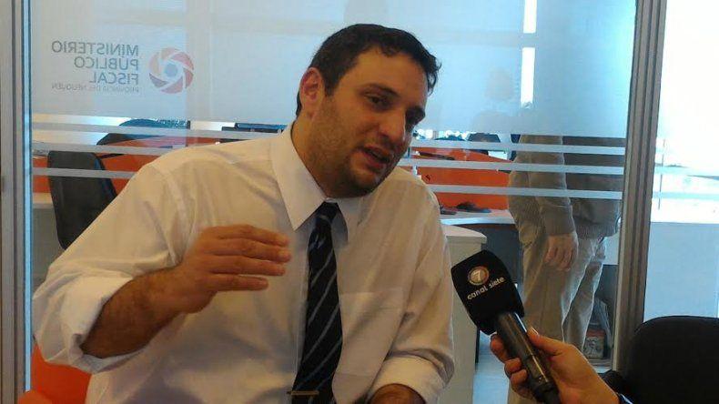 El fiscal del caso Andrés Azar