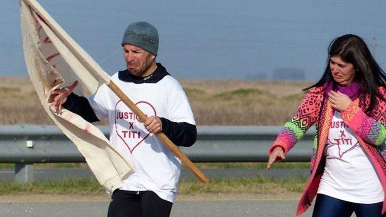 Corrió 158 kilómetros para que lo dejen ver a su hijo