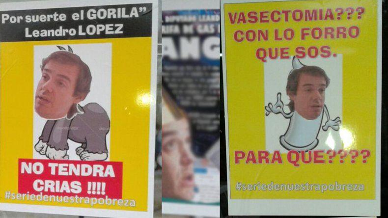 Vuelven a escrachar a López tras bromear con el tarifazo