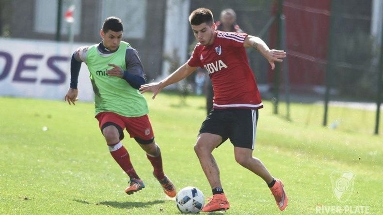 La joyita de 19 años hizo goles en tres de los amistosos de River.