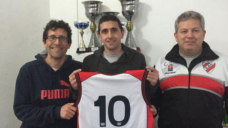 Luciano Alonso promedió 13
