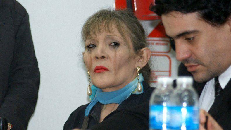 La travesti Laila Díaz está condenada por asesinar a una laboratorista.