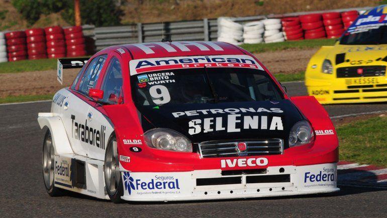 José Manuel Urcera la rompió en su estreno en el circuito 9 del Gálvez.