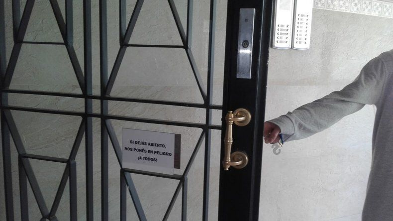 El edificio se inauguró en septiembre y pese a las medidas de seguridad implementadas