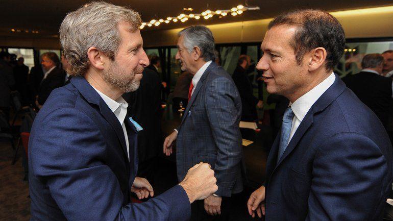 Gutiérrez estará con Frigerio en Buenos Aires para firmar el acuerdo.