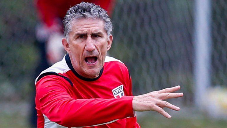 Bauza viene del San Pablo. Fue campeón con la Liga de Quito