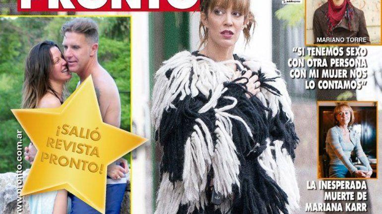 En febrero la pareja tuvo su primera crisis cuando Fantino se fue a grabar a Colombia el realiy Escuela para maridos.