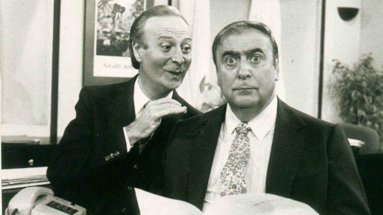 Juan Carlos Mesa y Gianni Lunadei
