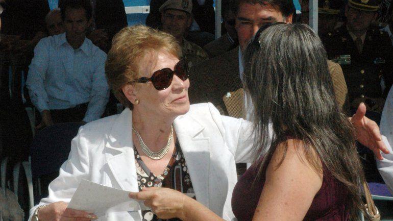 La jueza de Paz de Junín de los Andes