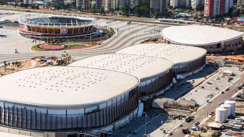 El hecho ocurrió en el Parque Olímpico. El viernes arrancan los Juegos.
